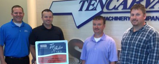 Southern Sales Company Awarded Crane Pumps Top Sales Award